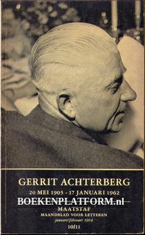 Gerrit Achterberg 20 mei 1905-17 januari 1962