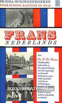 0133 Prisma woordenboek Frans-Nederlands