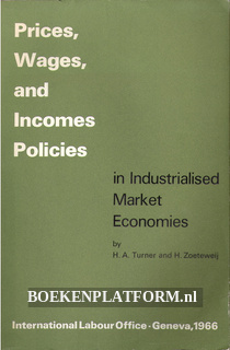 Prices, Wages and Incomes Policies