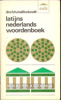 Latijns Nederlands woordenboek