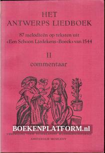 Het Antwerps liedboek II: Commentaar