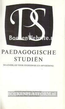 Paedagogische studien 1960