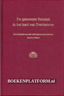 De gemeente Bemmel in het land van Overbetuwe