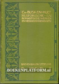Historische en Romantische werken en Reisherinneringen