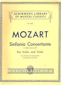 Mozart Sinfonia Concertante