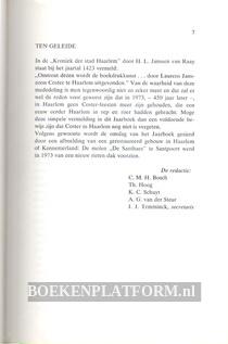 Haerlem Jaarboek 1973