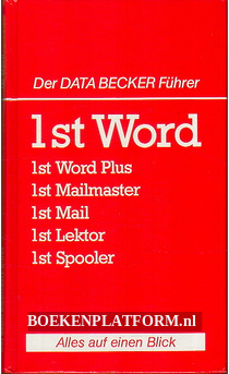 Der Data Becker Fuhrer 1st Word