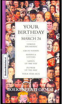 Your Birthday march 24