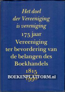 175 jaar vereeniging belangen des boekhandels