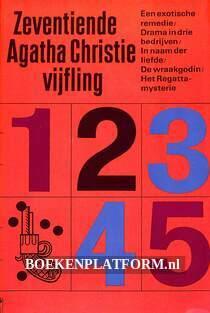 Zeventiende Agatha Christie vijfling