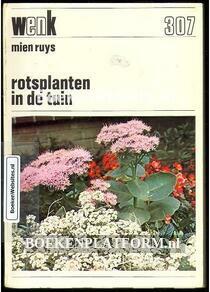 Rotsplanten in de tuin