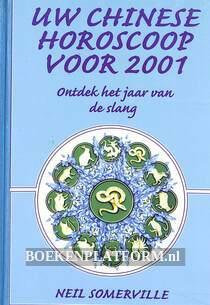 Uw Chinese horoscoop voor 2001