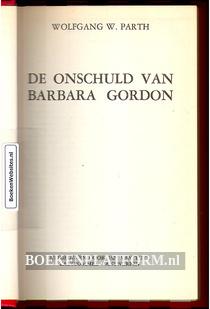 De onschuld van Barbara Fordon