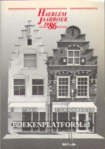Haerlem Jaarboek 1986
