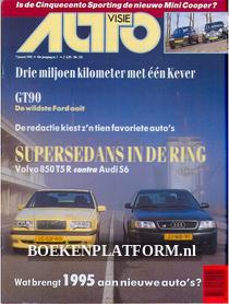 Autovisie 1995 Complete jaargang