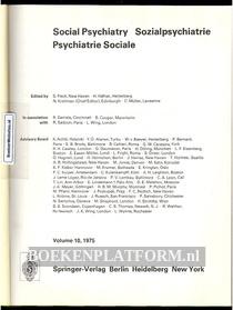 Social Psychiatry 1975