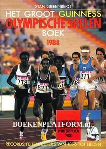 Het groot Guines Olympische spelen boek