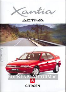 Citroen Xantia Activa 1995 brochure