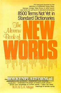 The Morrow Book of New Words