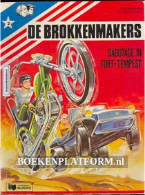 De Brokkenmakers, Sabotage in Fort-Tempest