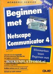 Beginnen met Netscape Communicator 4