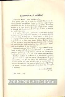 Robinsono Kruso, esperanto