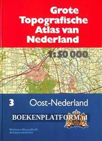 Grote Topografische Atlas van Nederland nr.3 Oost-Nederland
