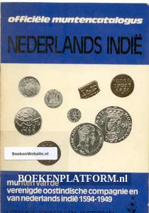 Officiele muntencatalogus Nederlands Indie