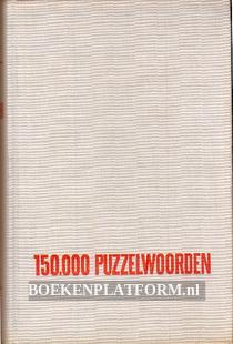 150.000 puzzelwoorden