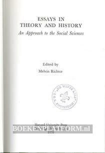 Essays in Theory and History