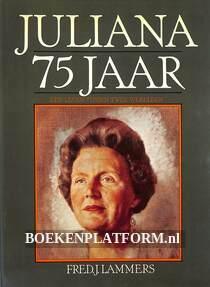 Juliana 75 jaar