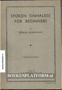 Spoken Sinhalese for Beginners
