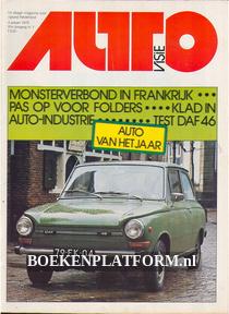Autovisie 1975 Complete jaargang
