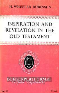 Inspiration and Revelation in the Old Testament