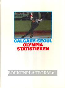 Calgary-Seoul Olympia statistieken