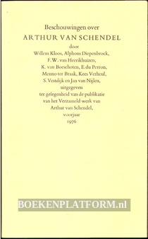 Beschouwingen over Arthur van Schendel