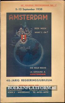 Amsterdam 40-jarig regeerings-jubileum