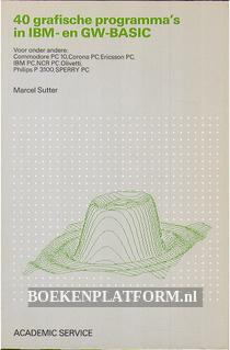 40 grafische programma's in IBM- en GW-Basic