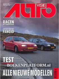 Autovisie 1991 Complete jaargang