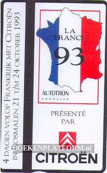 Telefoonkaart Citroen, Autotron 1993