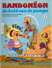 Bandoneon de held van de Pampa