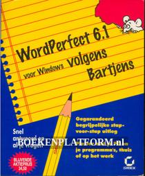 WordPerfect 6.1 voor Windows volgens Bartjens