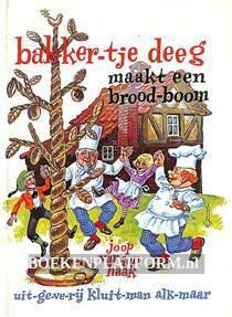 Bakkertje Deeg maakt een broodboom