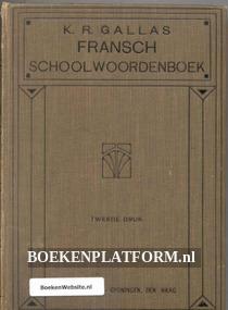Fransch school woordenboek