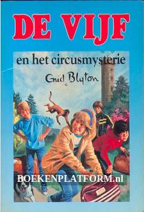De vijf en het circusmysterie