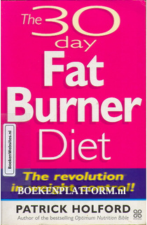 The 30 day Fat Burner Diet