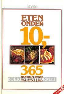 Eten onder 10,--