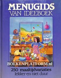Menugids van Ideeboek