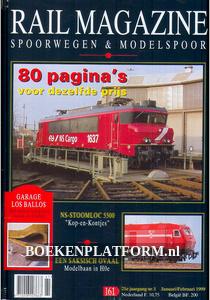 Rail Magazine, Spoorwegen en Modelspoor jaargang 1999