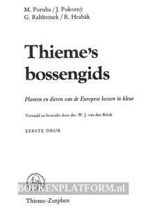 Thieme's bossengids